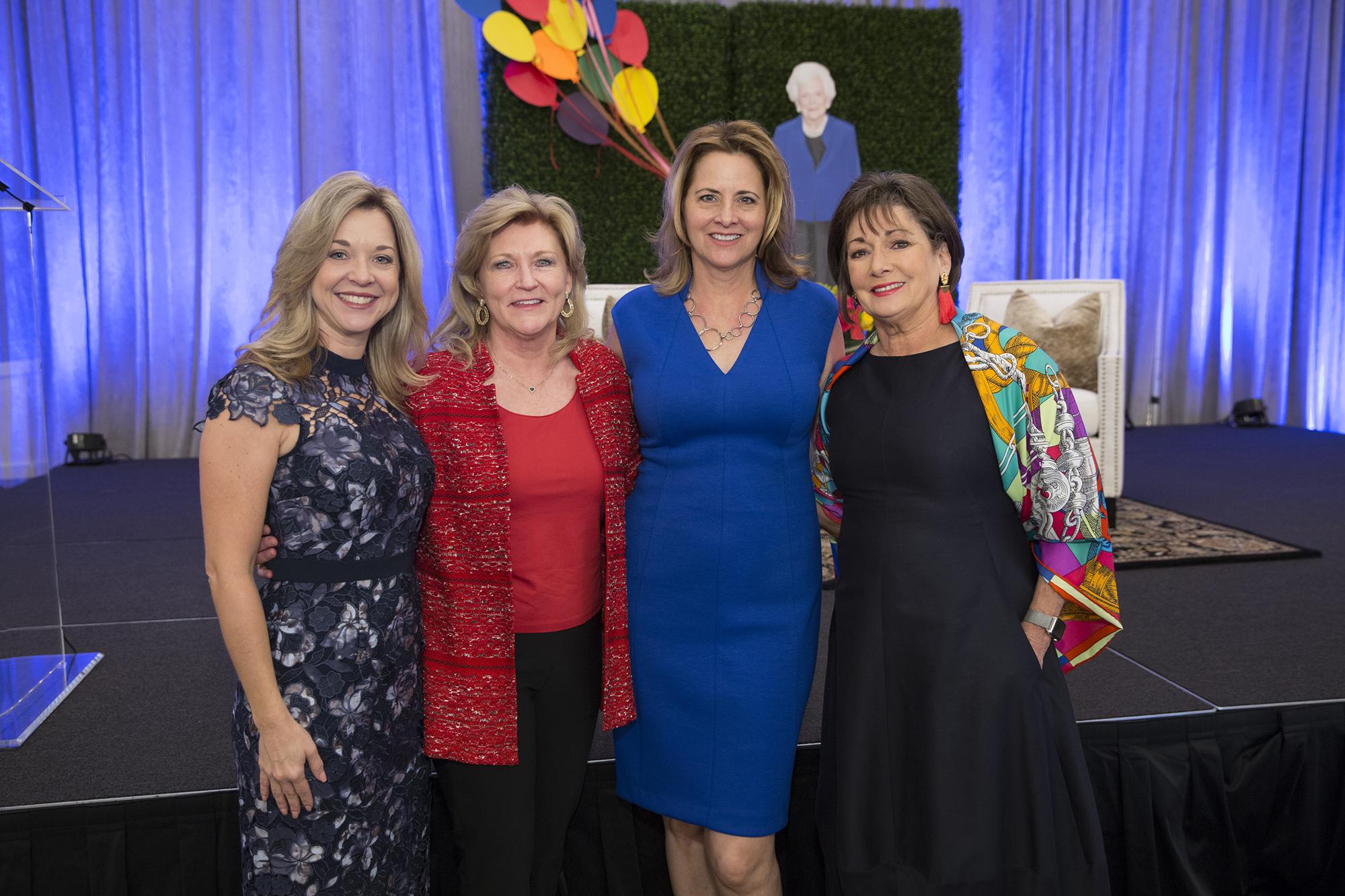 Julie Baker Finck, Rhonda Graff, Laurel D'Antoni, Cathy Cleary; Photo by Jenny Antill.jpg