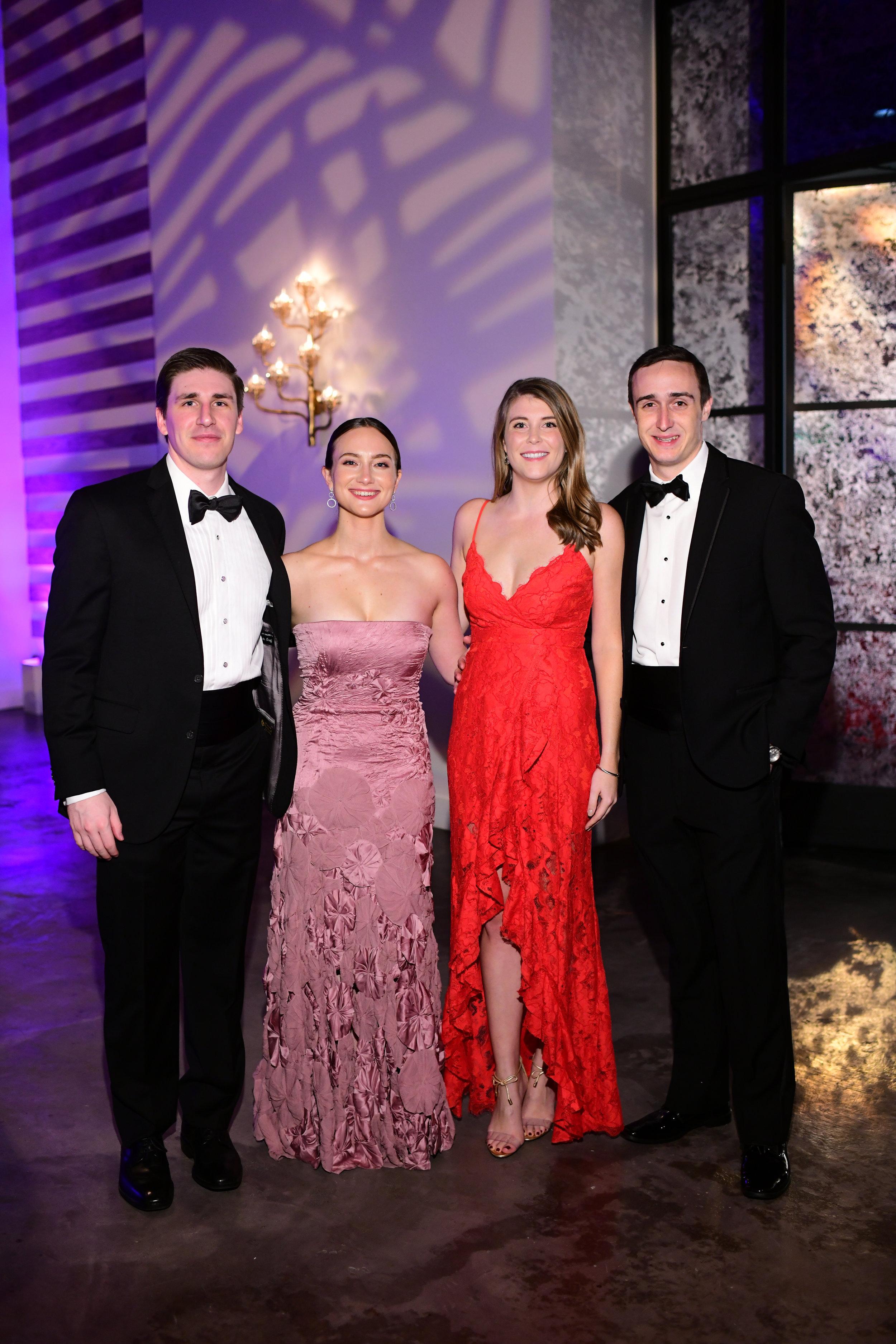Brian Graff, Katherine Morille, Lauren Amos, Garrett Werner; Photo by Daniel Ortiz.jpg