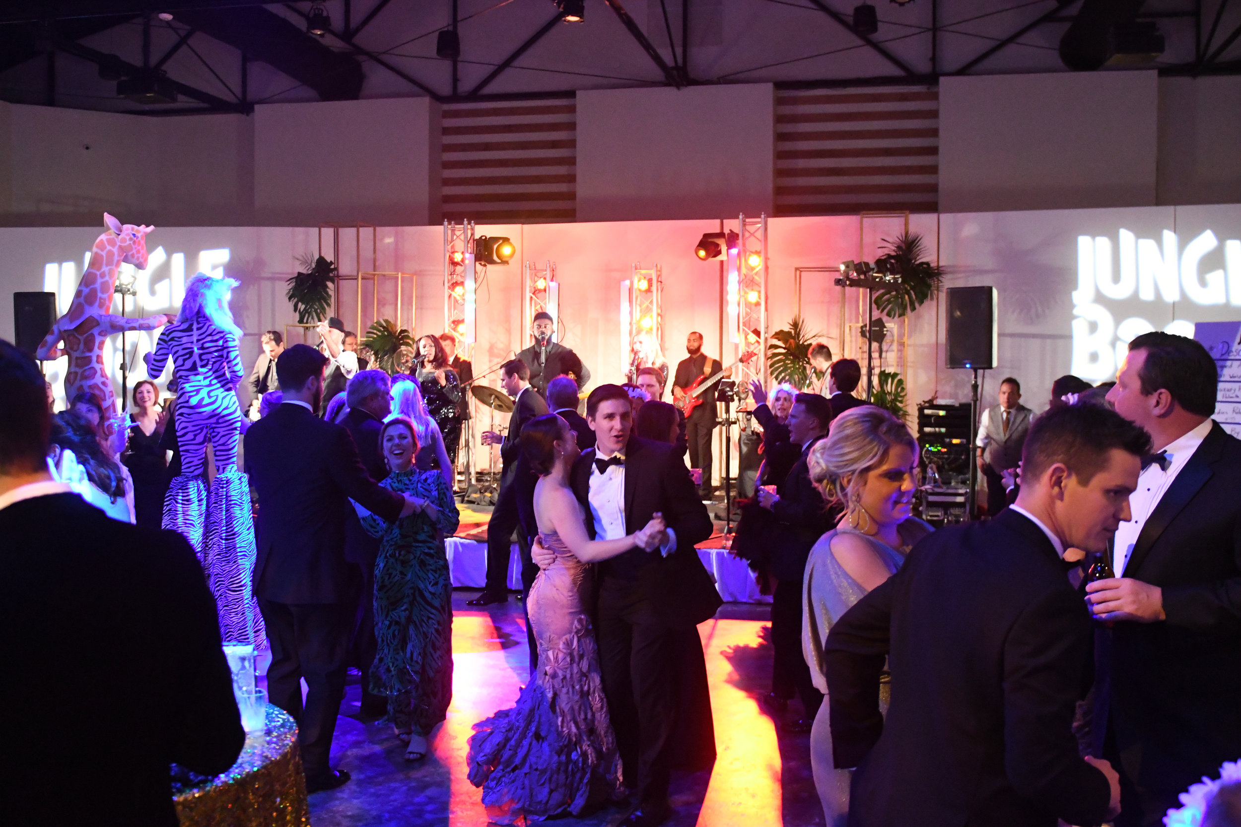 Dance floor at the 2018 Jungle Book Gala; Photo by Daniel Ortiz.jpg