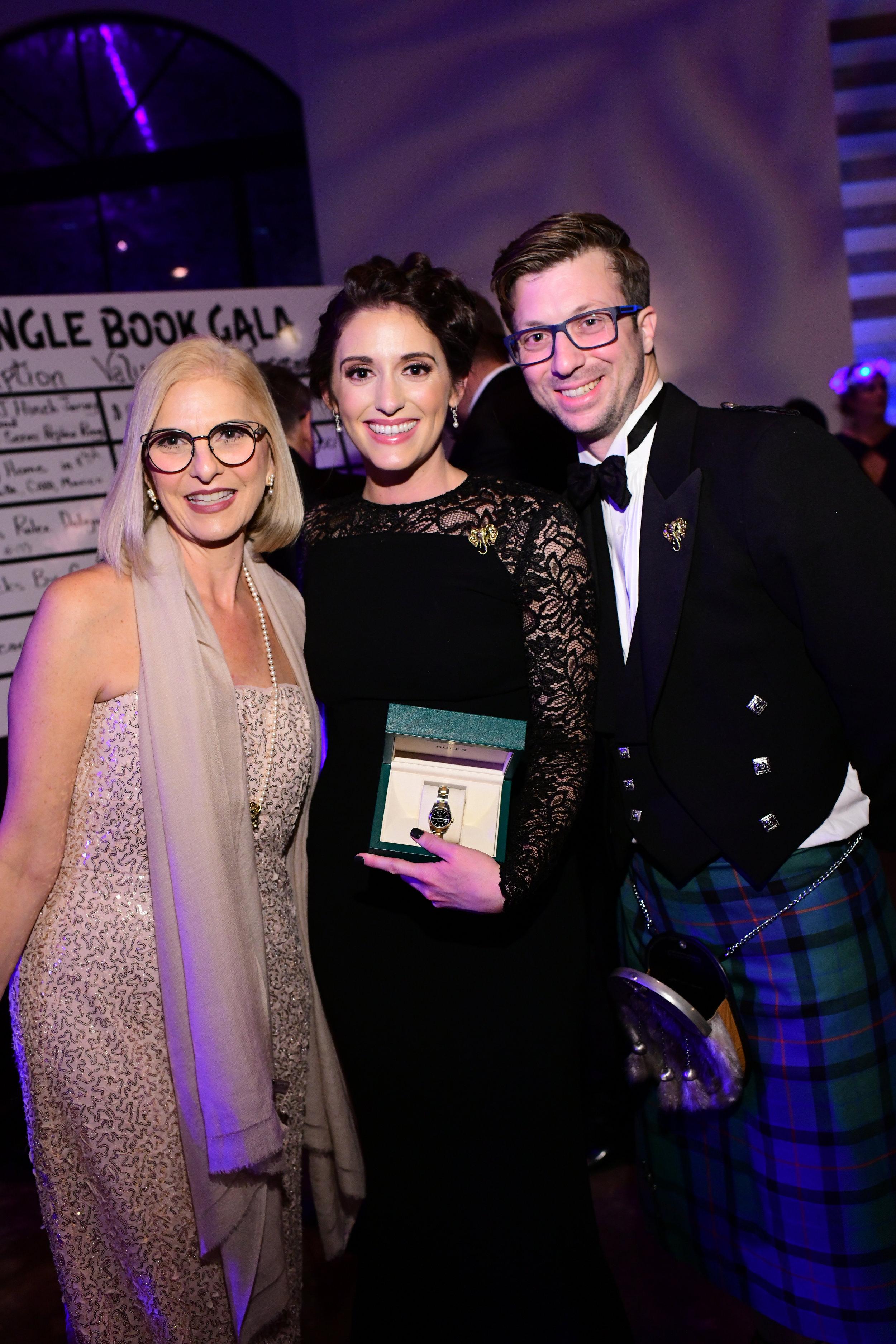 Phyllis Trogden, Kayla and Rory Tolunay; Photo by Daniel Ortiz.jpg