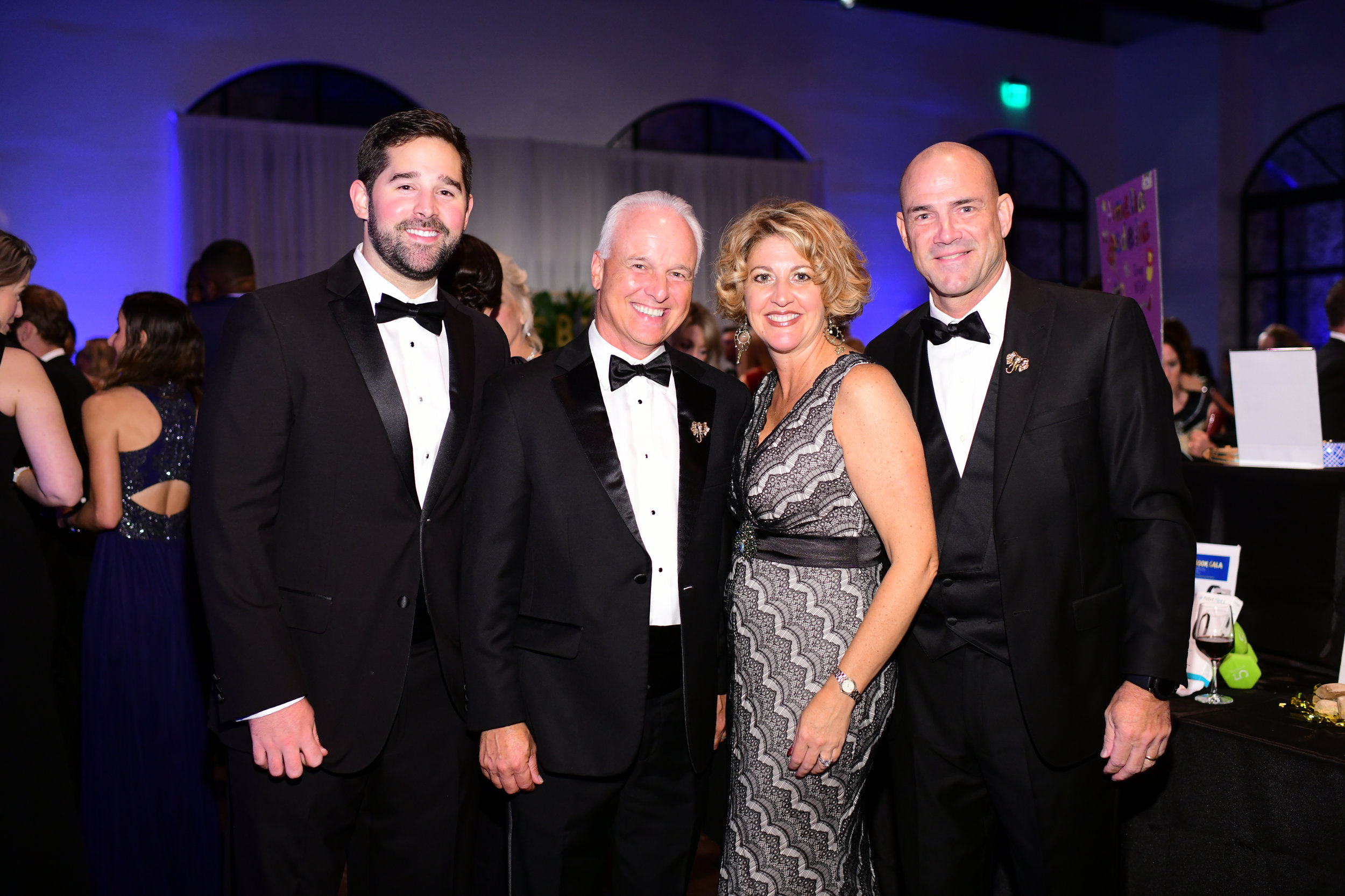 Preston Schulze, Mark Jakel, Janna and Steve Roberson; Photo by Daniel Ortiz.jpg