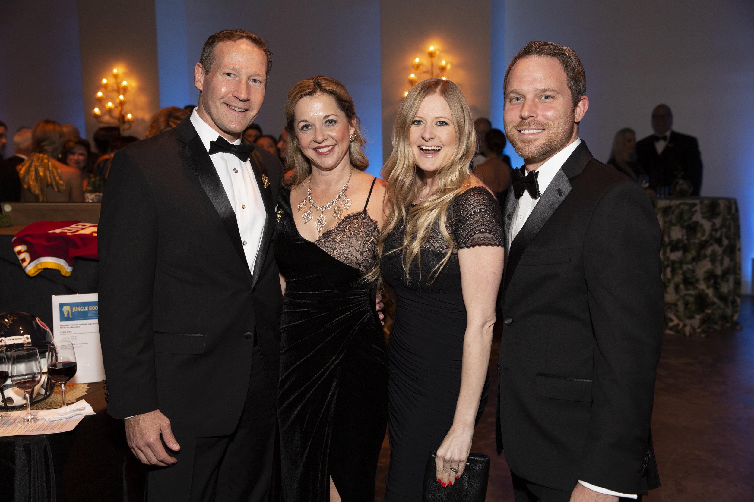 Ron Finck, Julie Baker Finck, Melissa and Matt Murphy; Photo by Jenny Antill.jpg