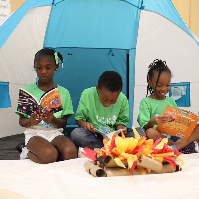 Today is National Book Lovers Day! We work everyday to foster a love of reading in the children of Houston. What's your favorite book? 📚#nationalbookloversday #welovereading #bushhoustonlit