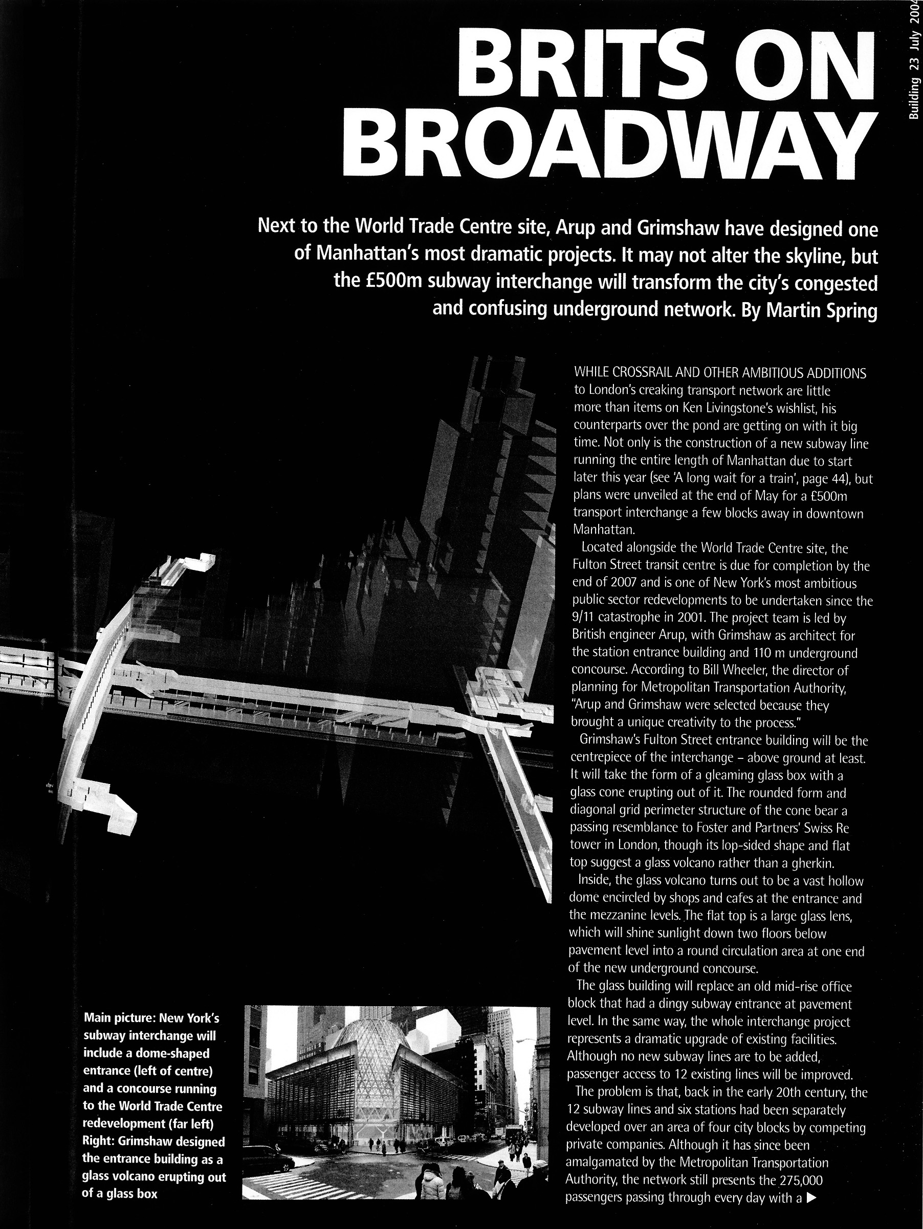 Brits Off Broadway