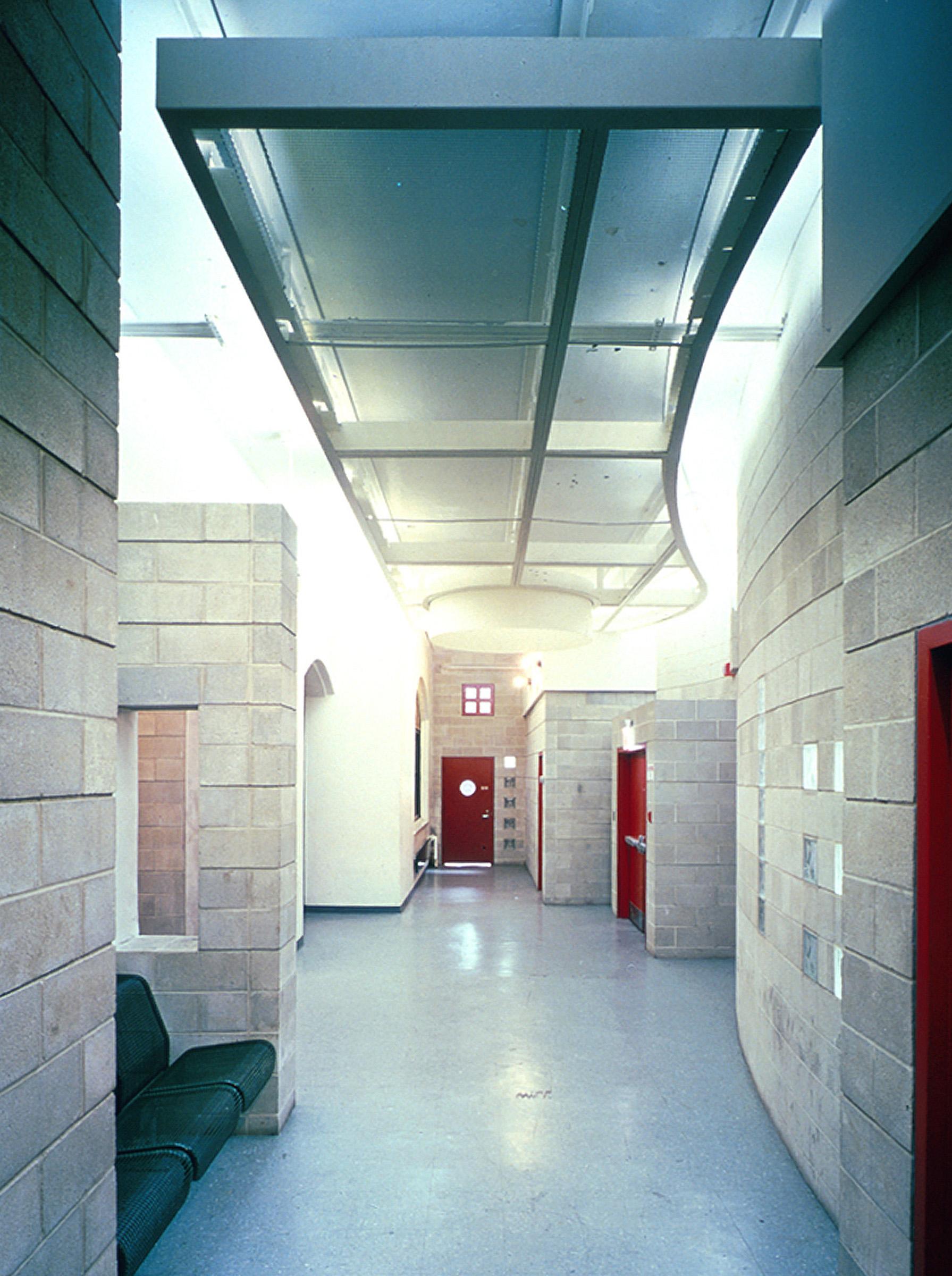 Com&Go - Interior - Hallway Masonry Walls.jpg