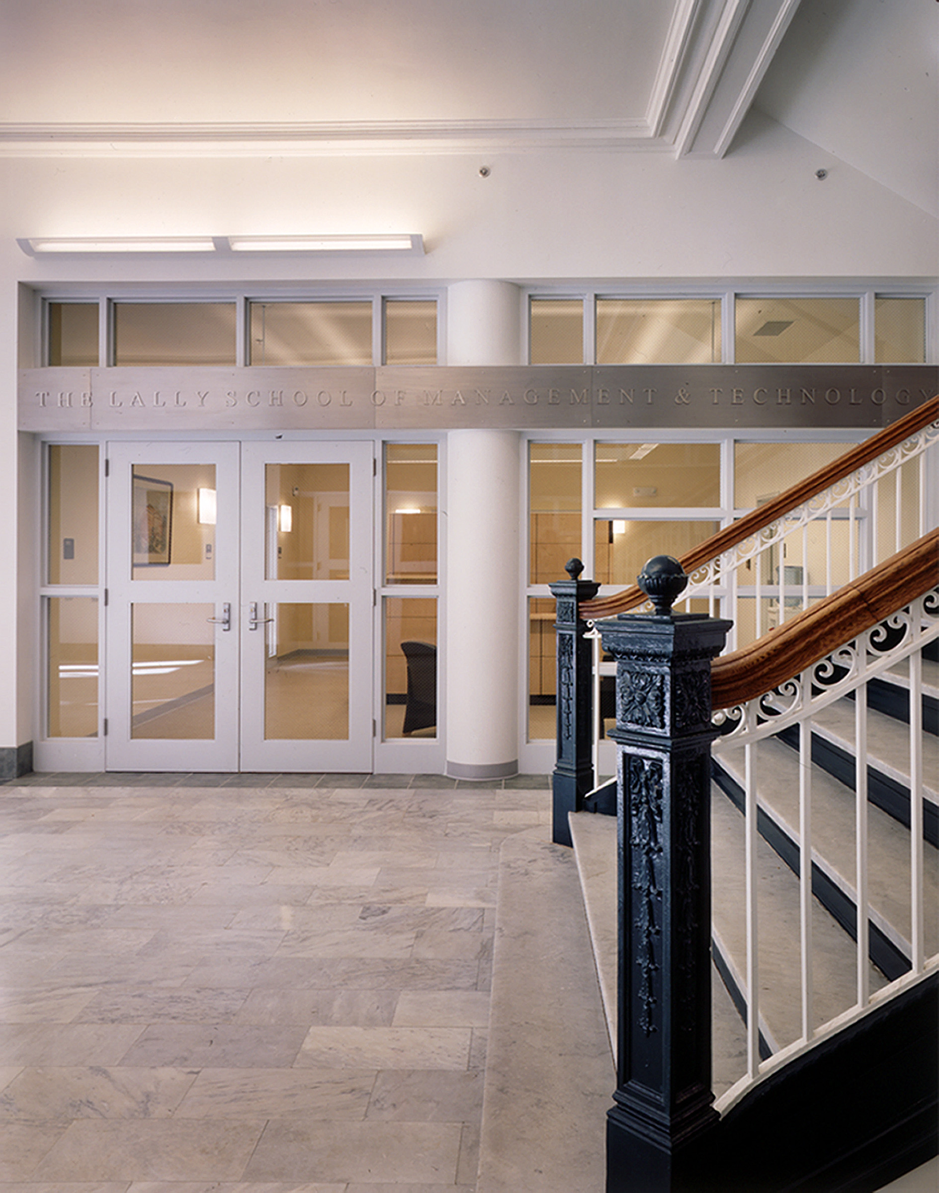 RPI - Interior - Stair with Glass Doors.jpg