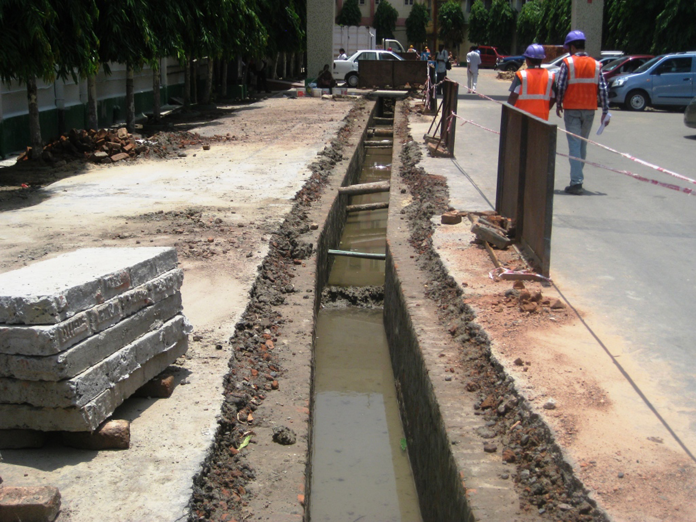 Trail Trenching for new DG room at SEA.jpg
