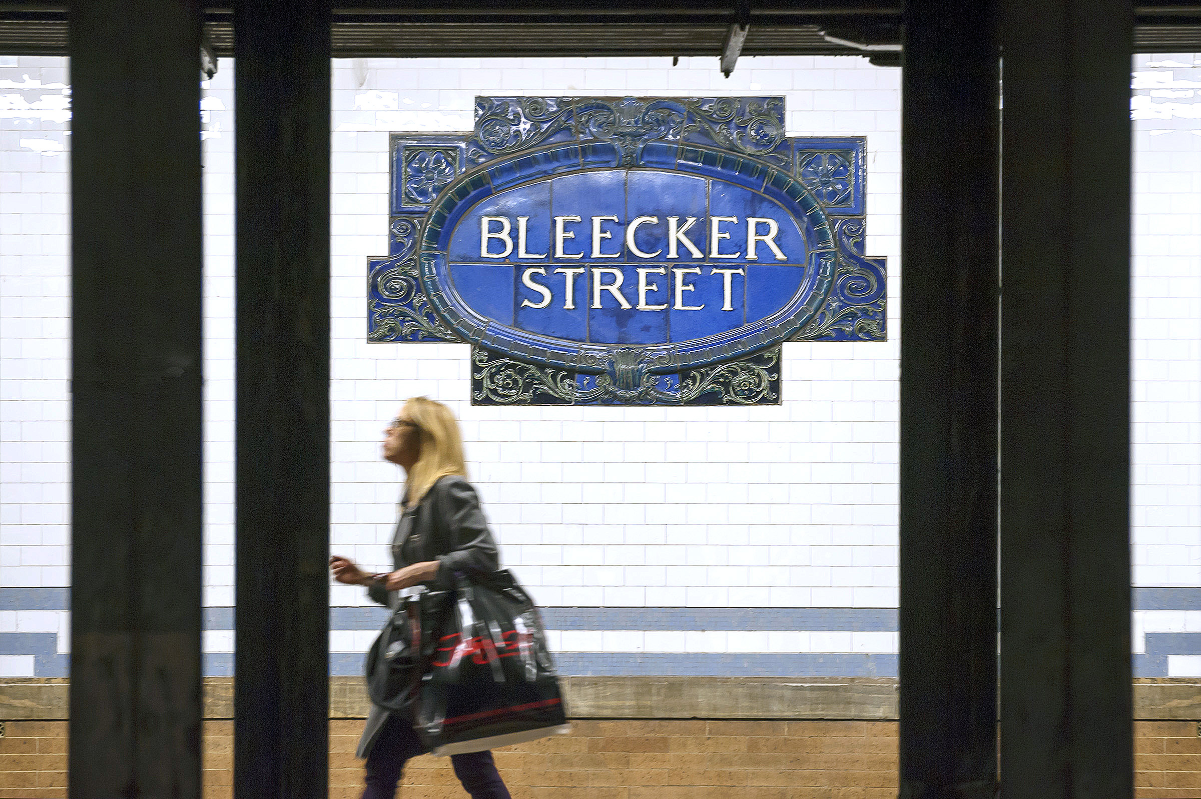Bleecker Street Subway Station