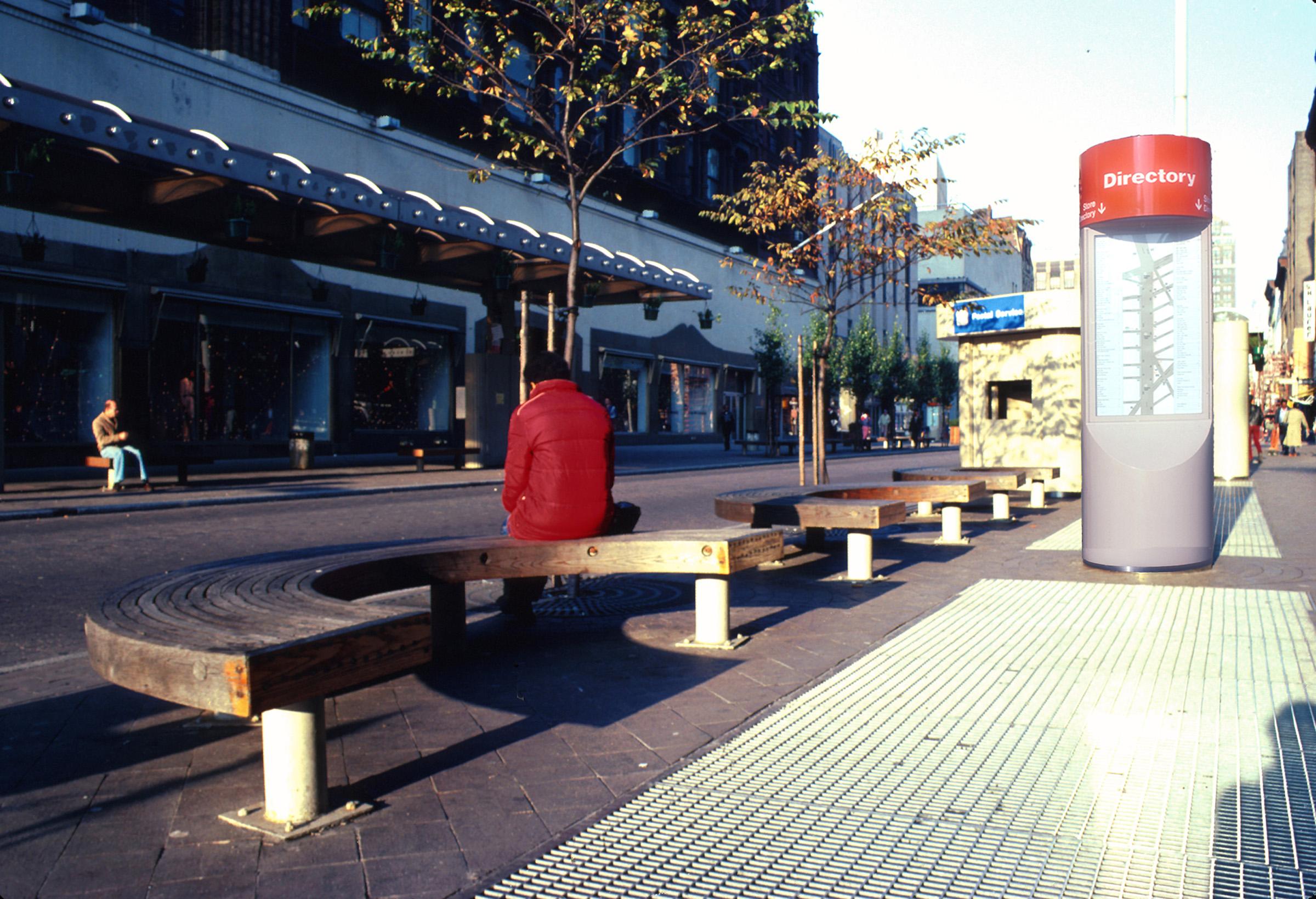 Fulton Street Pedestrian Mall & Transitway