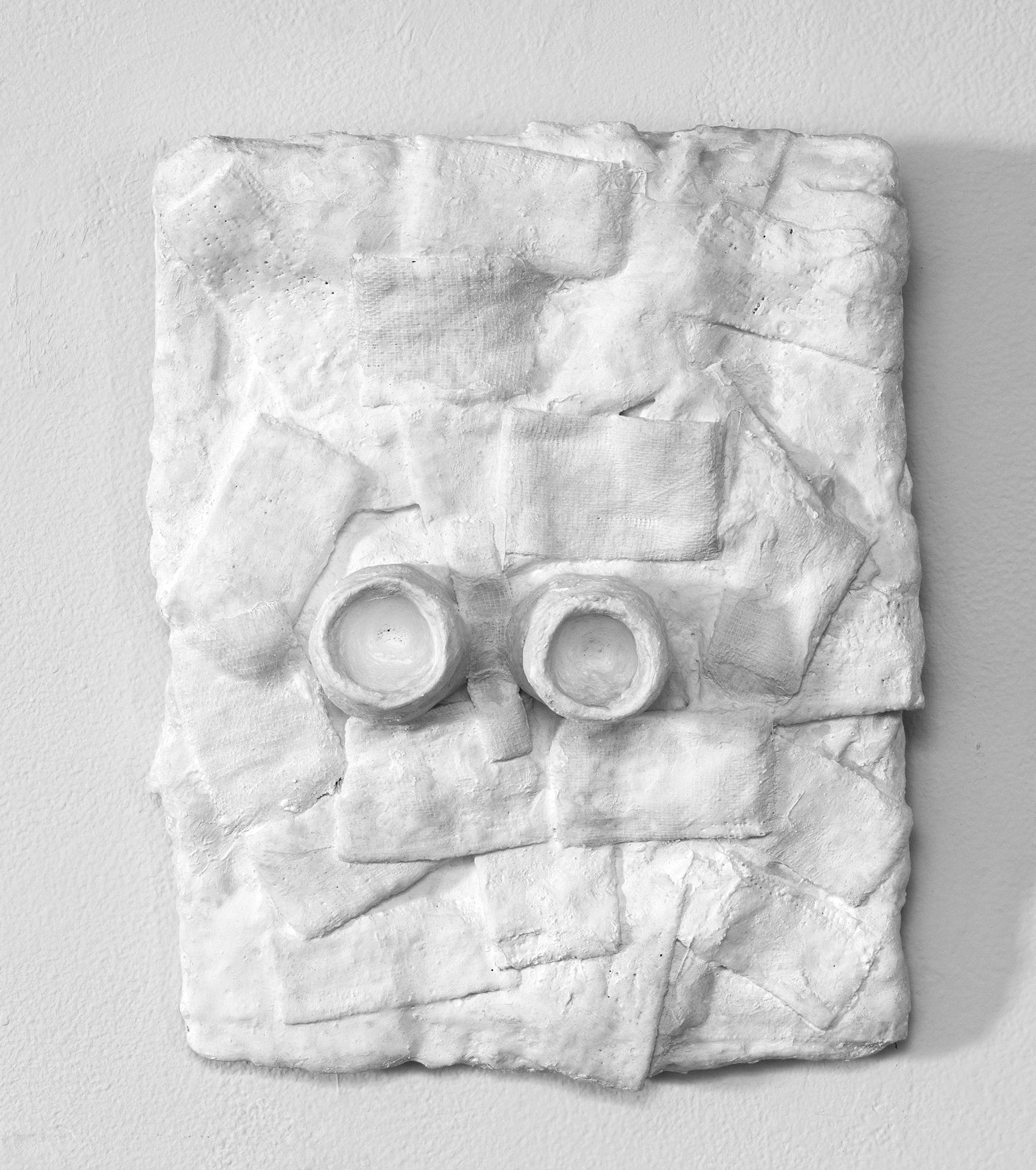 _________________  2016  plaster cloth  12 x 9.5 x 2.75  _________________
