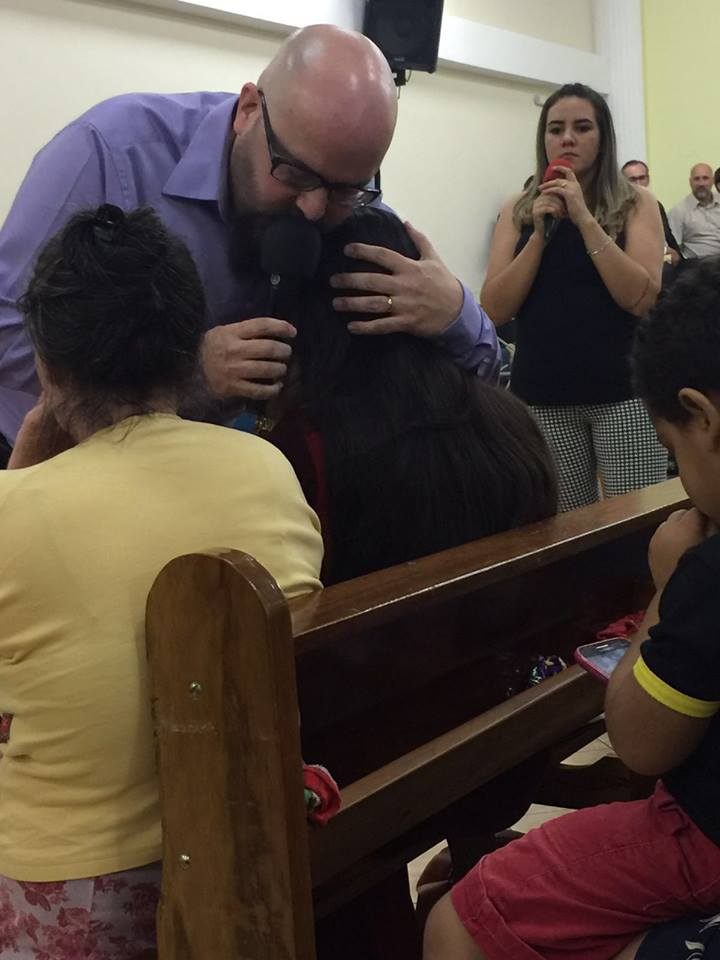 Christopher Ministering in Brazil