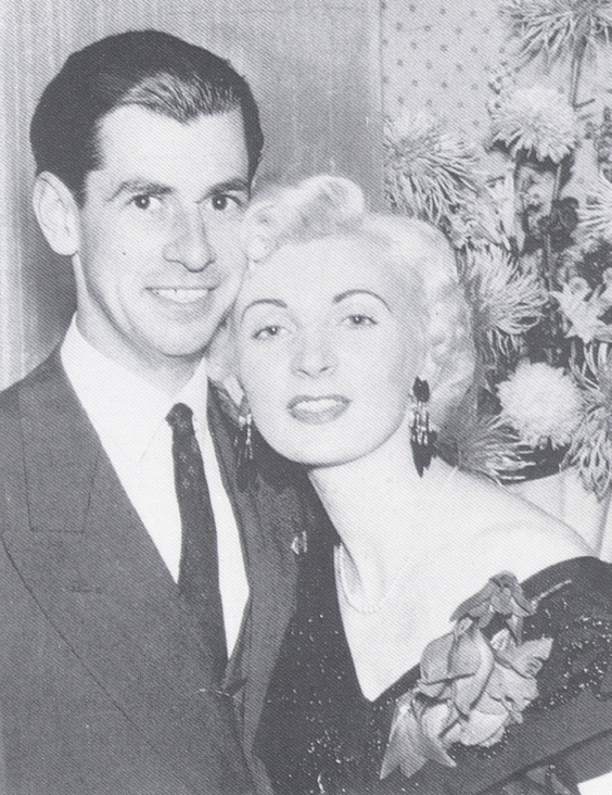 Glamorous and lighthearted: Ruth Ellis and David Blakely at the Little Club in 1953. His murder by her in 1955 was the crime passionnel of the decade.