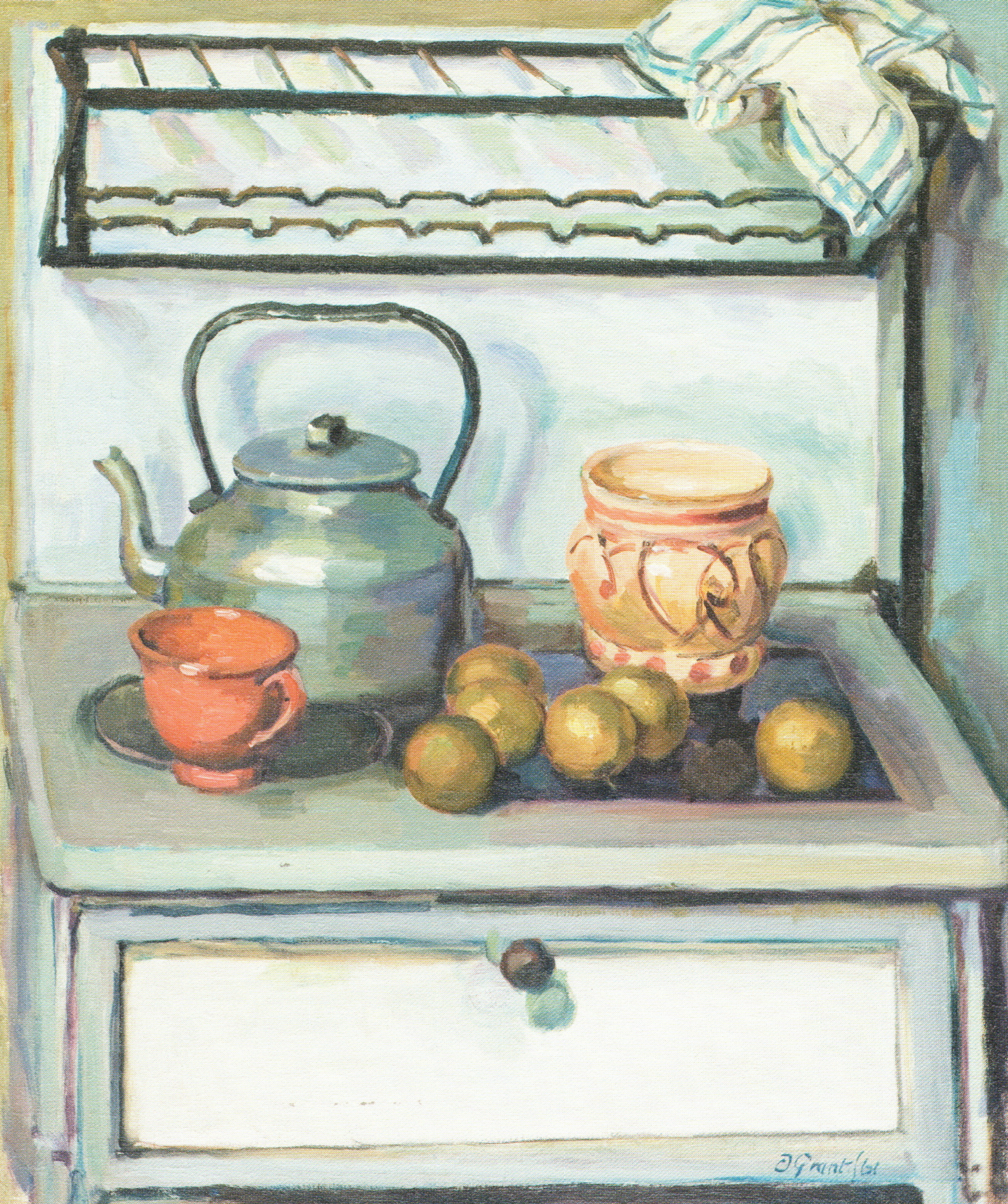 Kitchen Still Life, Duncan Grant, c. 1960