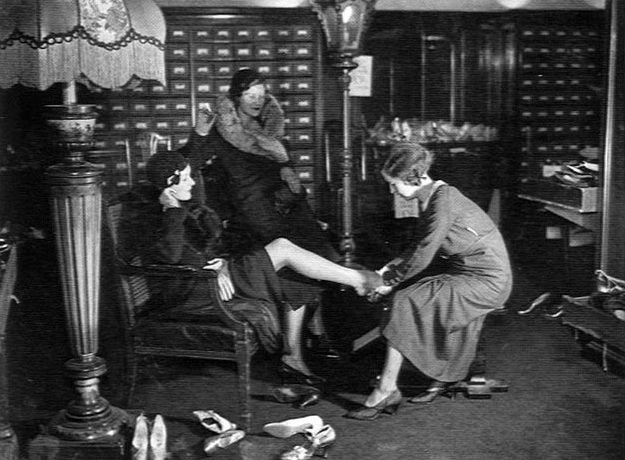 In 1921 ninety per cent of women working in the retail sector were single; even at the luxury end, they often worked twelve-hour days in atrocious conditions.