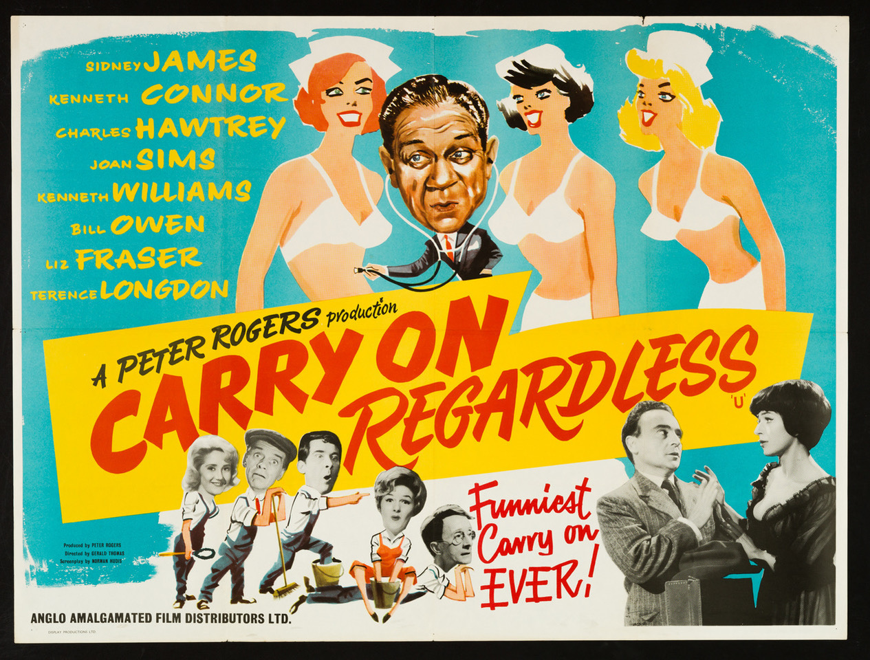 Sexist, slapstick and silly,  the Carry On… films were the longest-running British comedy franchise, with 31 interchangeably inane variants on the formula between 1958-92.