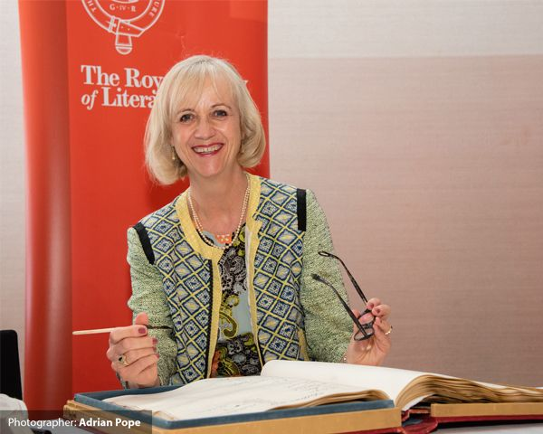 June 2019: Elected Fellow of the Royal Society of Literature. Virginia signs the RSL Roll Book using George Eliot's pen.