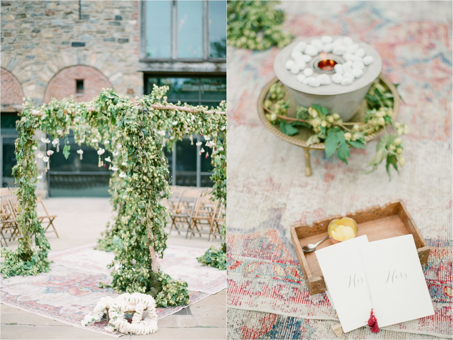 Hops Covered Chuppah