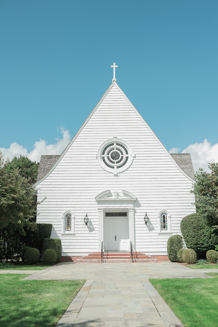 Church Wedding Bridgehampton