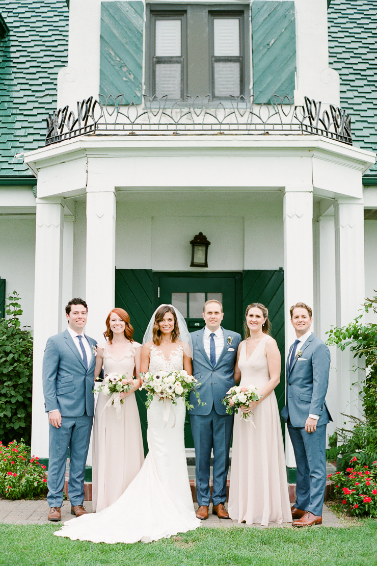 Bridal Party Photos at Gurneys Montauk Star Island Resort