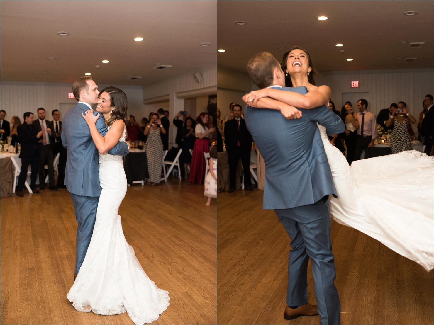 First Dance Bride and Groom at Gurneys Star Island Resort Montauk