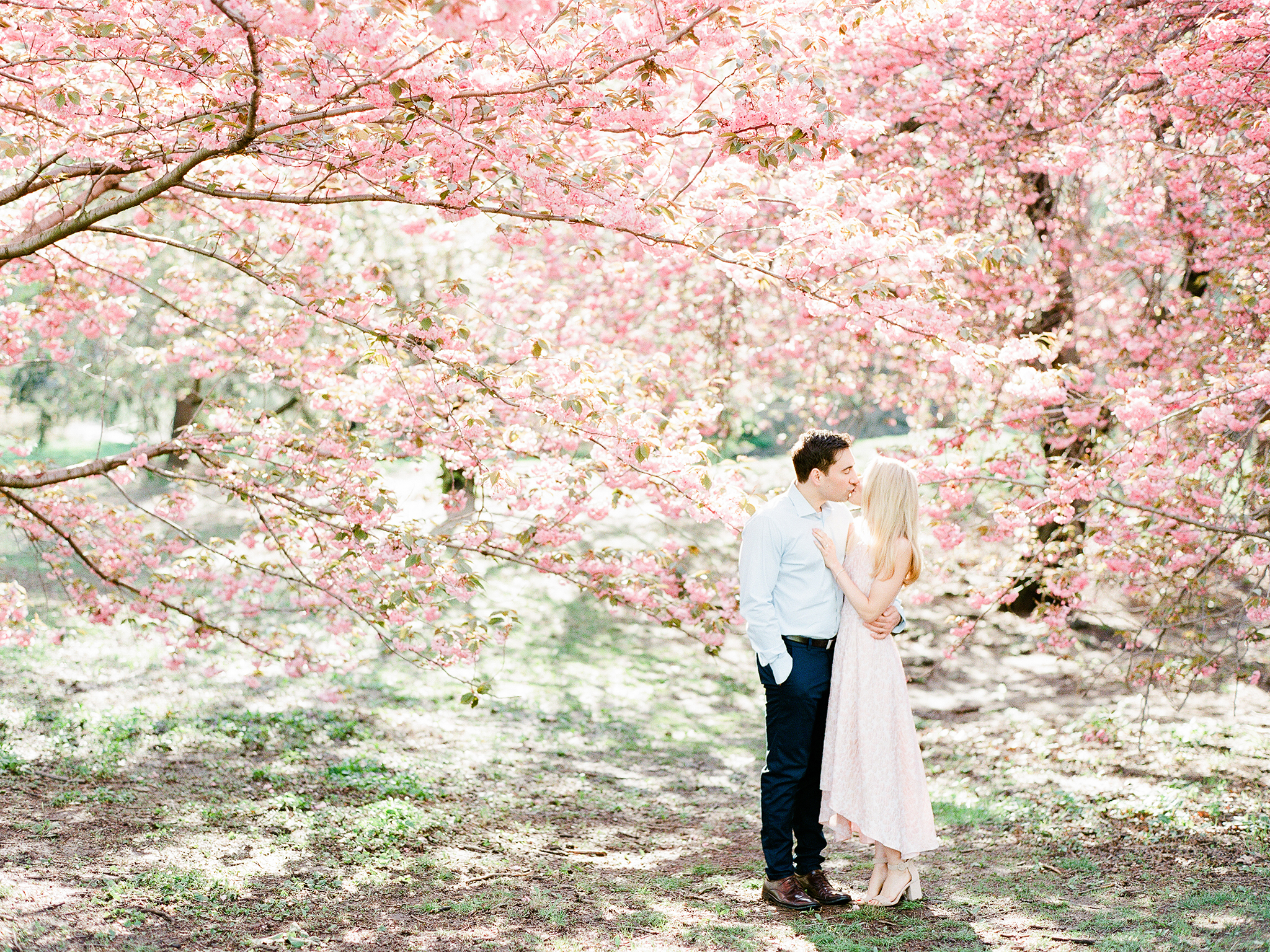 NYC Central Park Engagement Photos