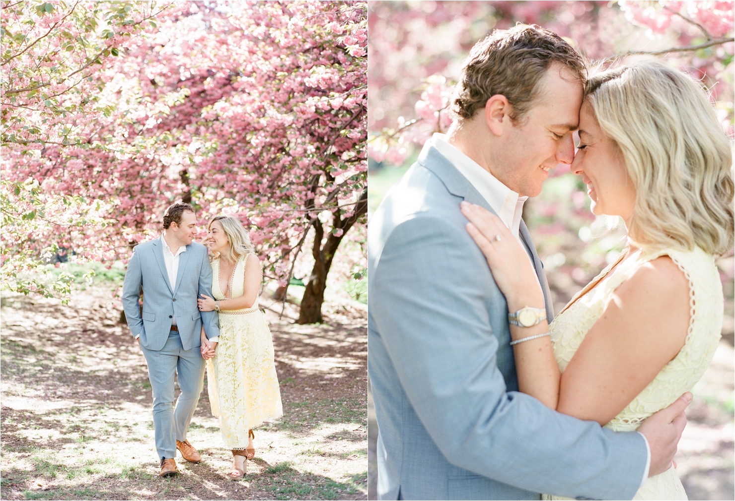 Spring Engagement Session in Central Park