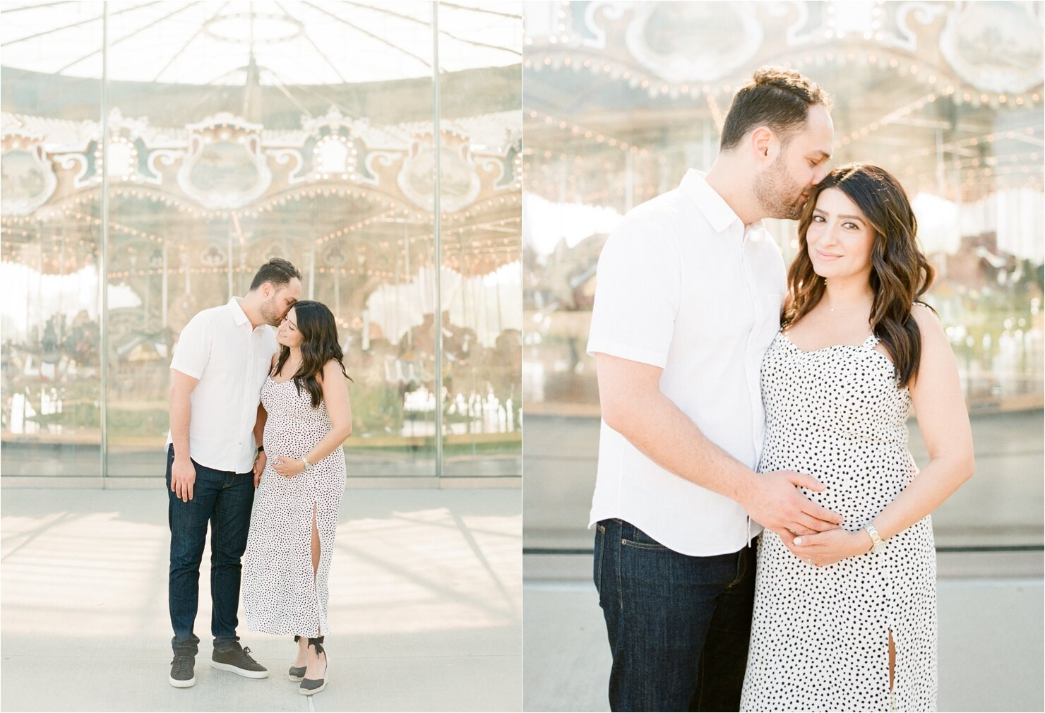 Maternity Session in DUMBO Brooklyn