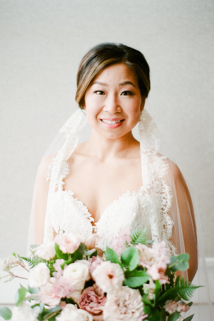 Bridal Portrait at Gurney's Montauk