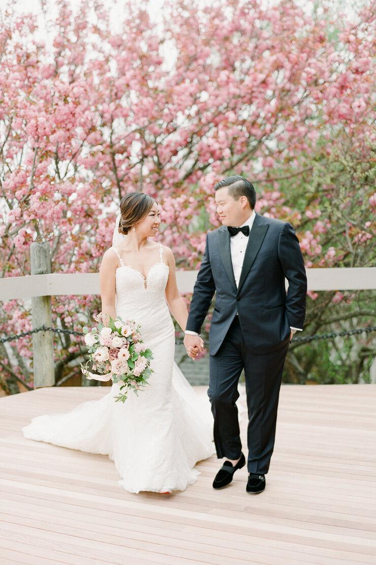 Bride and Groom Wedding Photos at Gurney's Montauk