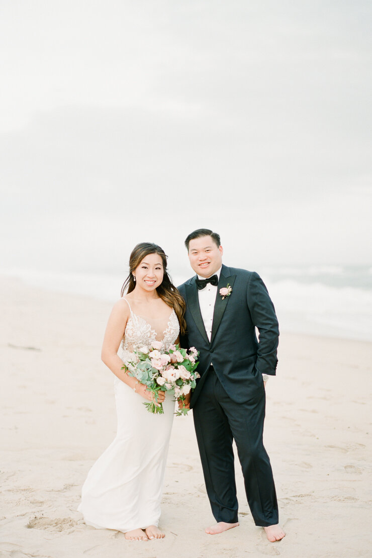Sunset Wedding Photos at Gurney's Montauk