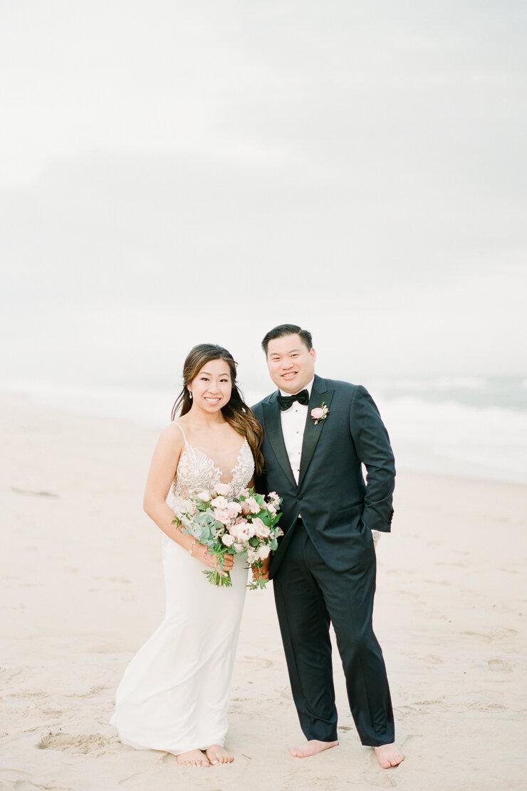 Sunset Wedding Photos at Gurney's Montauk