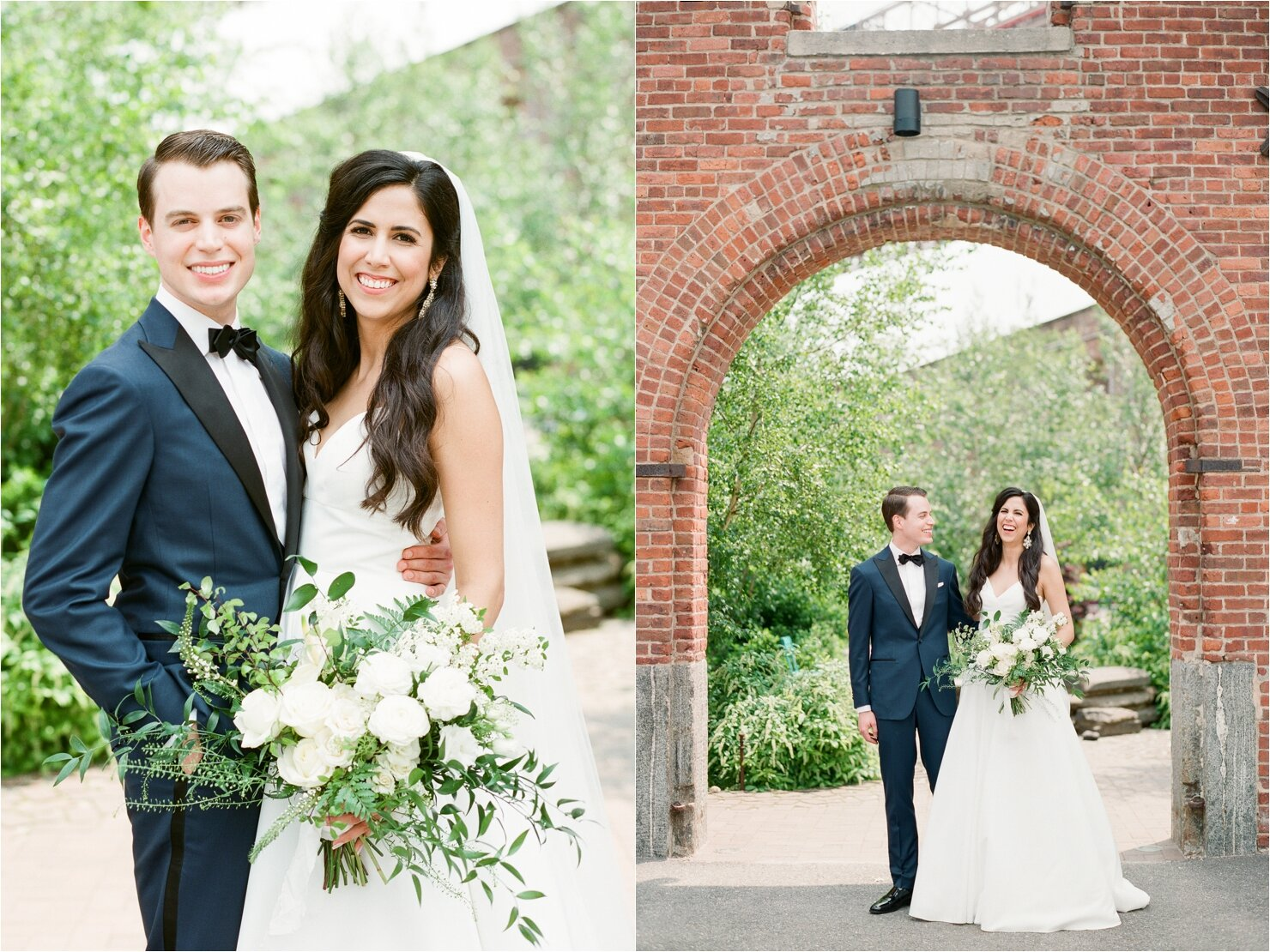 St. Anne's Warehouse Bride and Groom Photos