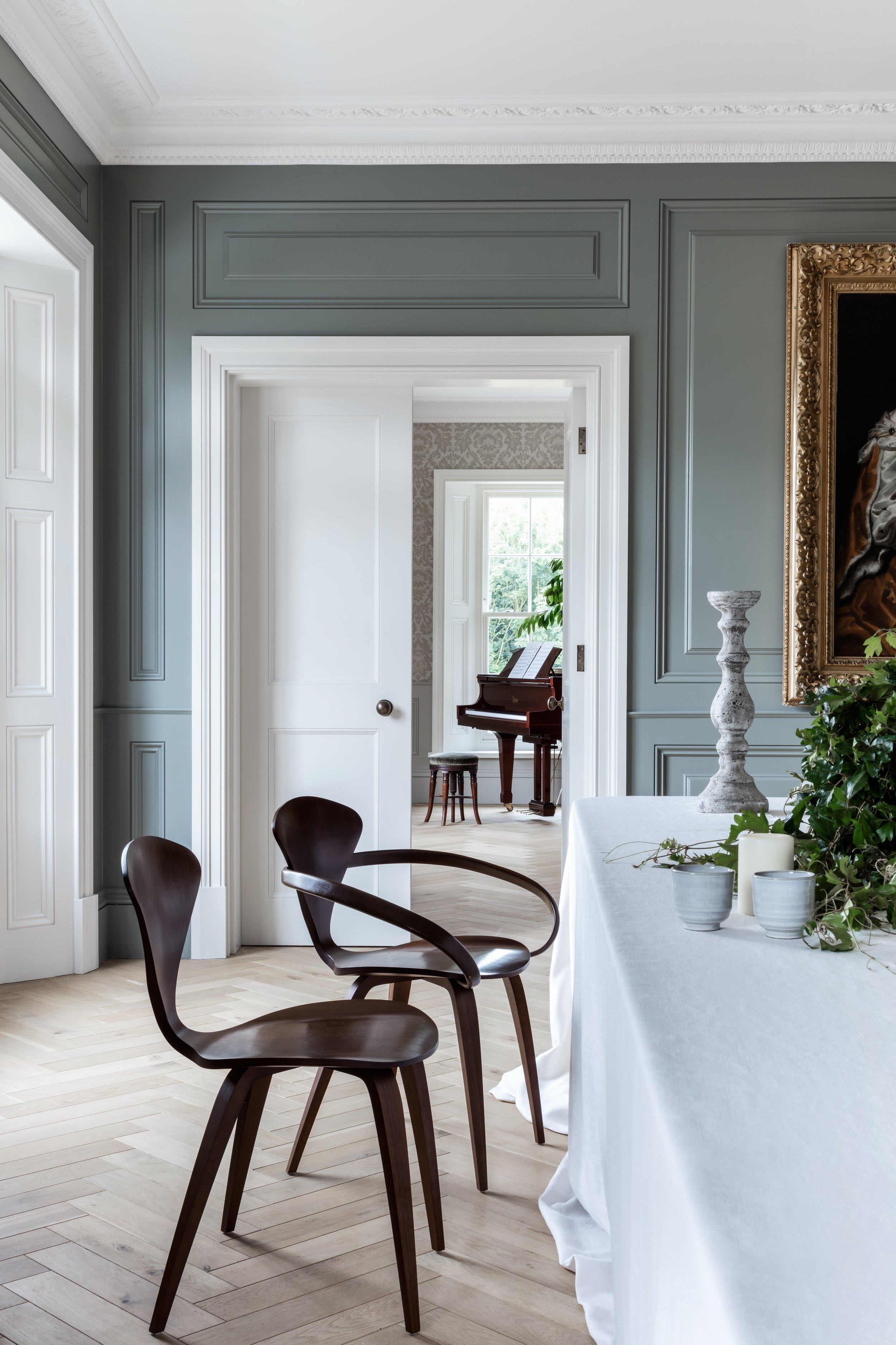 DINING ROOM VIEW TO DRAWING ROOM
