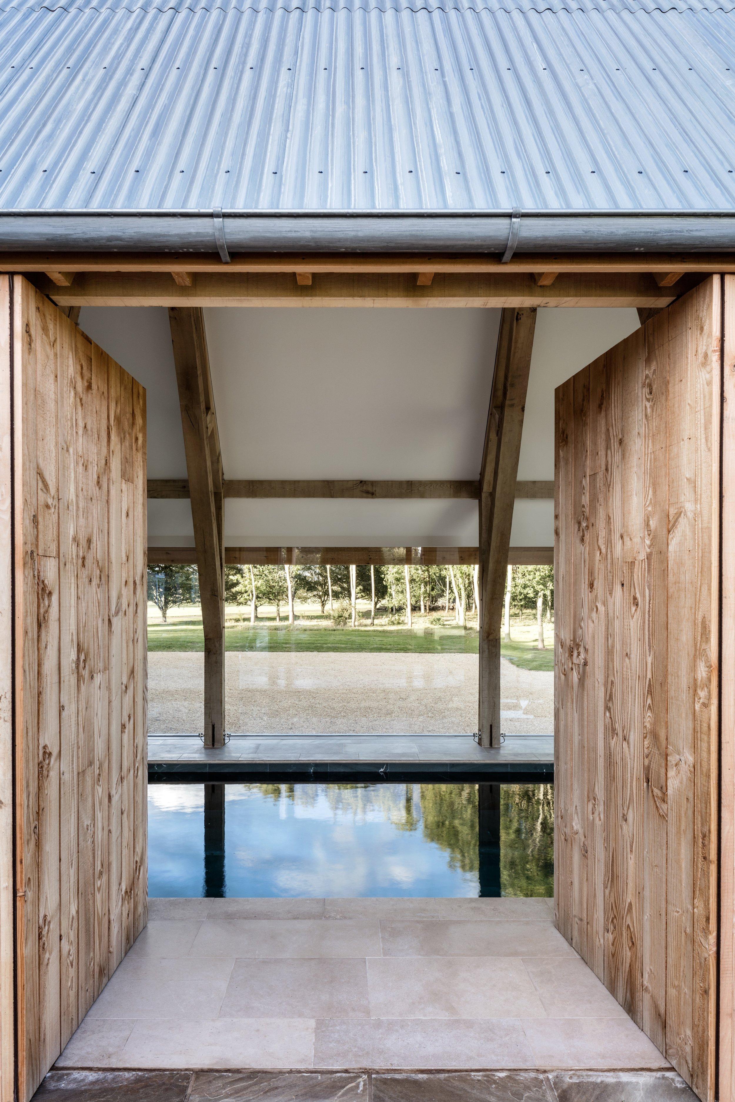swimming pool doors