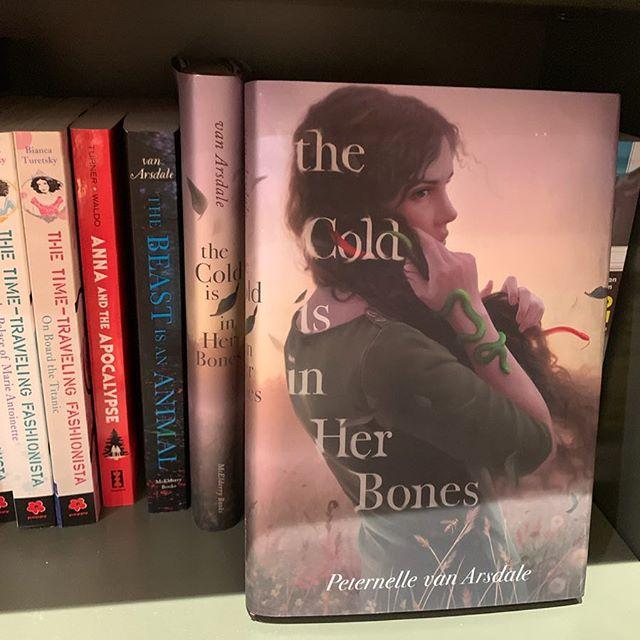 Thank you, @shakeandco.uws, for carrying #TheColdIsinHerBones and #TheBeastIsanAnimal. It was lovely chatting with you today! 🐍💚🐍