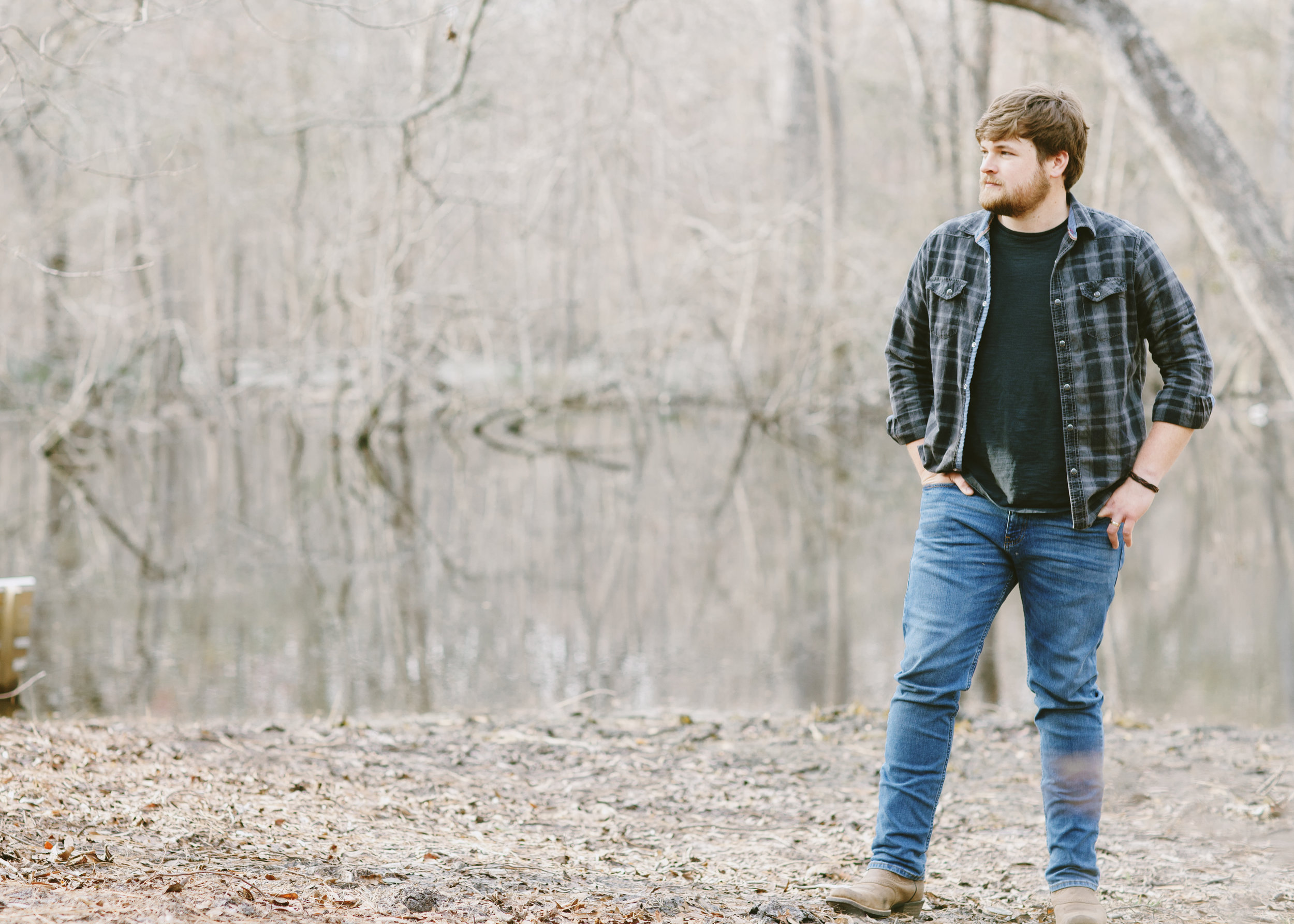 """CLAYTON HACKLE - With his debut release """"When I See Her Smile"""", Georgia-native Clayton Hackle, makes an indelible mark on the country music scene."""