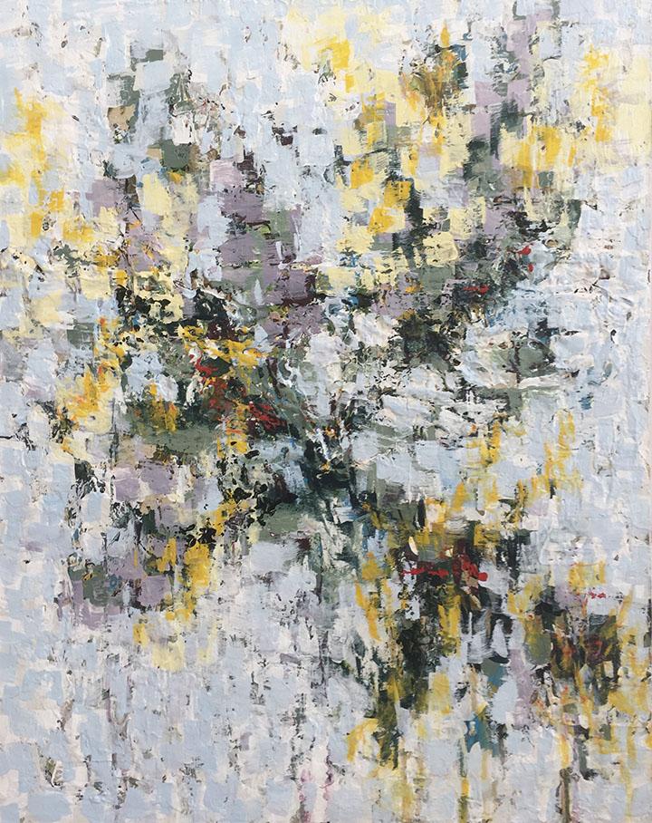 Zoyera 30x24, acrylic on canvas, $1800