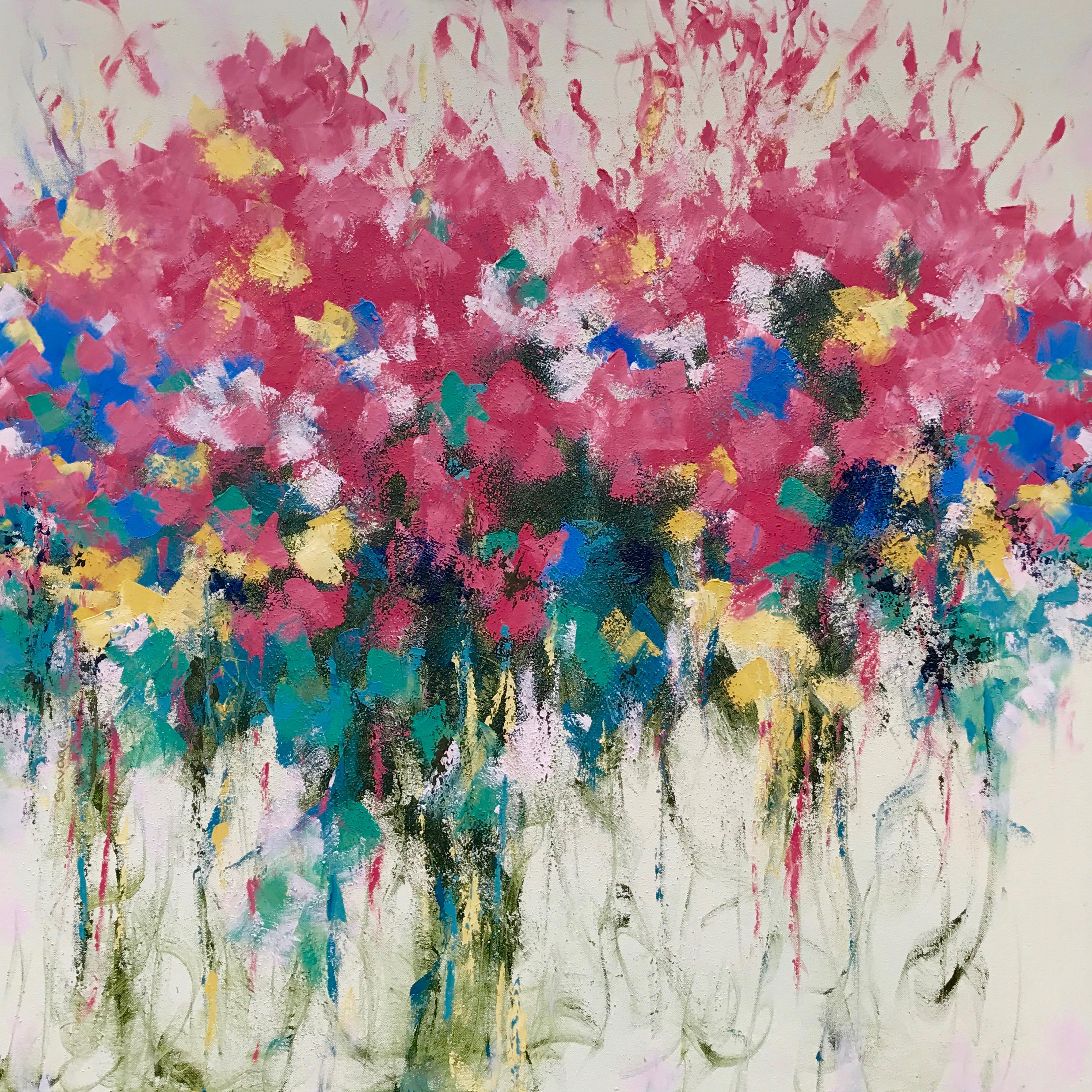 Feel Good, 36x36, oil on canvas, $1950