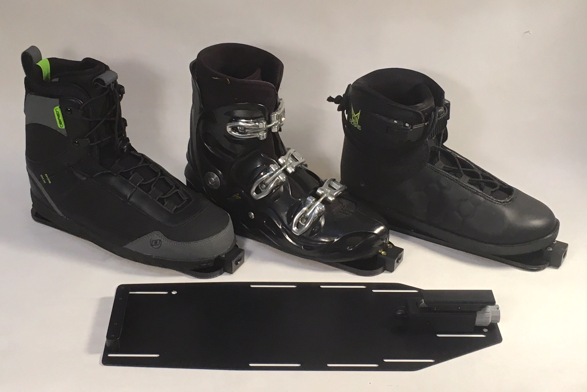 Use any style boot on the MOB!