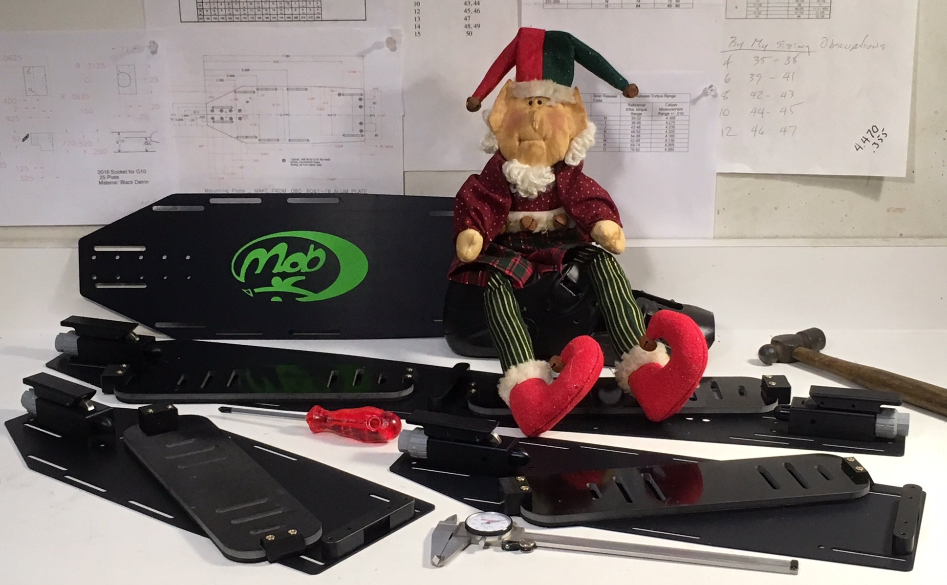 The MOB elf has been busy in the workshop getting ready for Black Friday.
