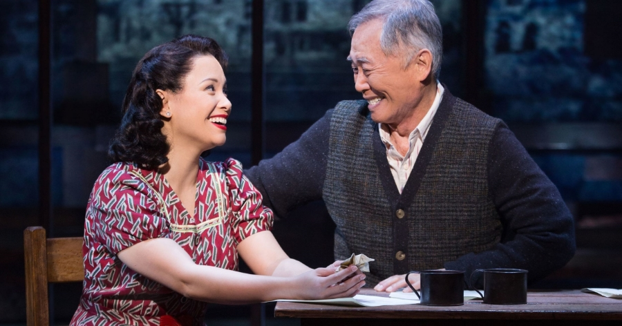 Allegiance  with George Takei  Photo:  Matt Murphy
