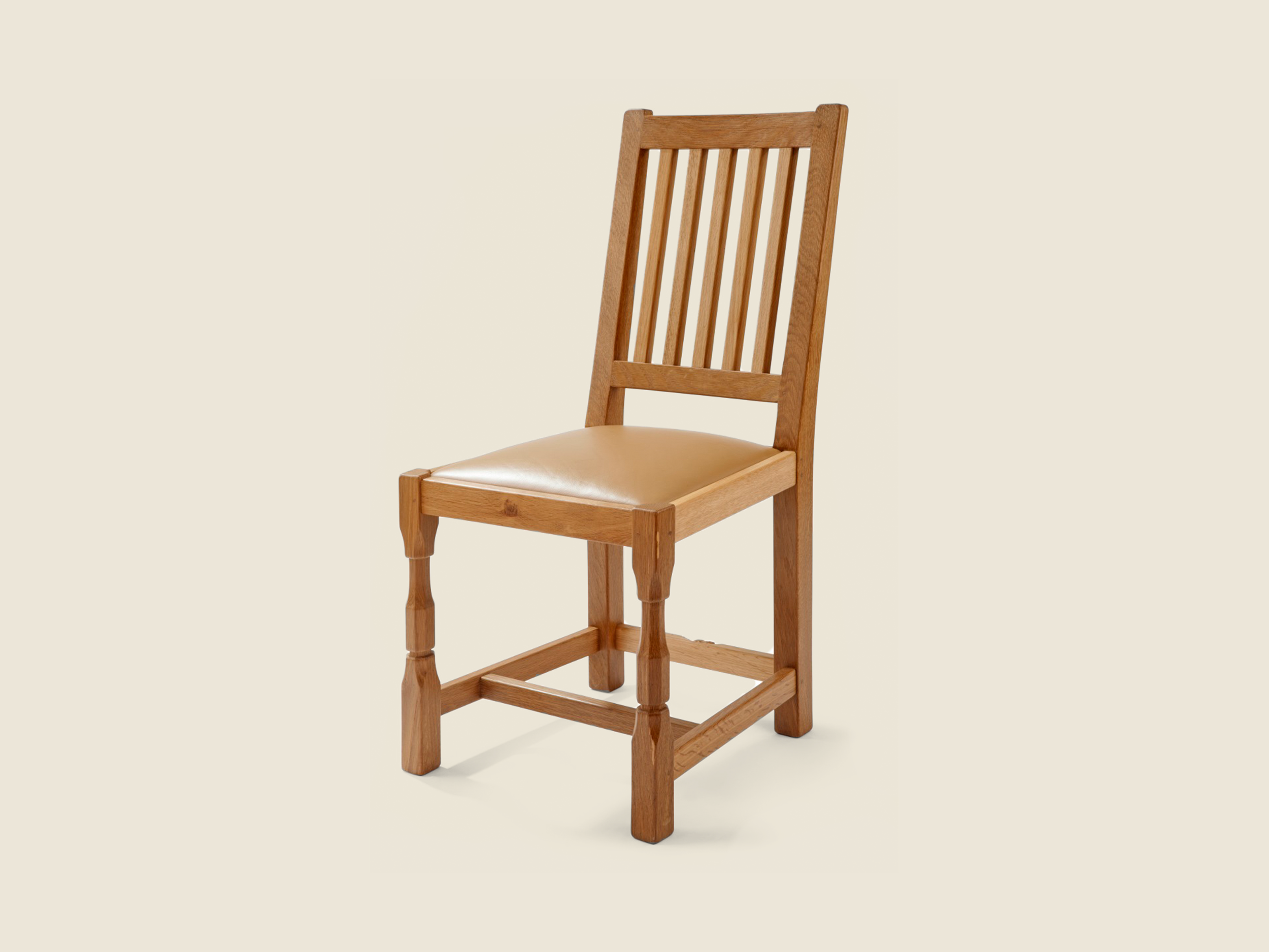 BF211 Oak Harewood Dining Chair
