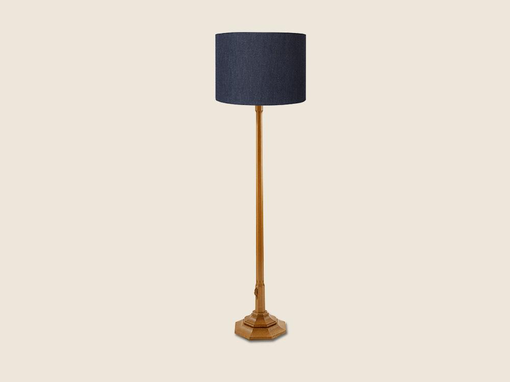 BF1117 Oak Standard Lamp