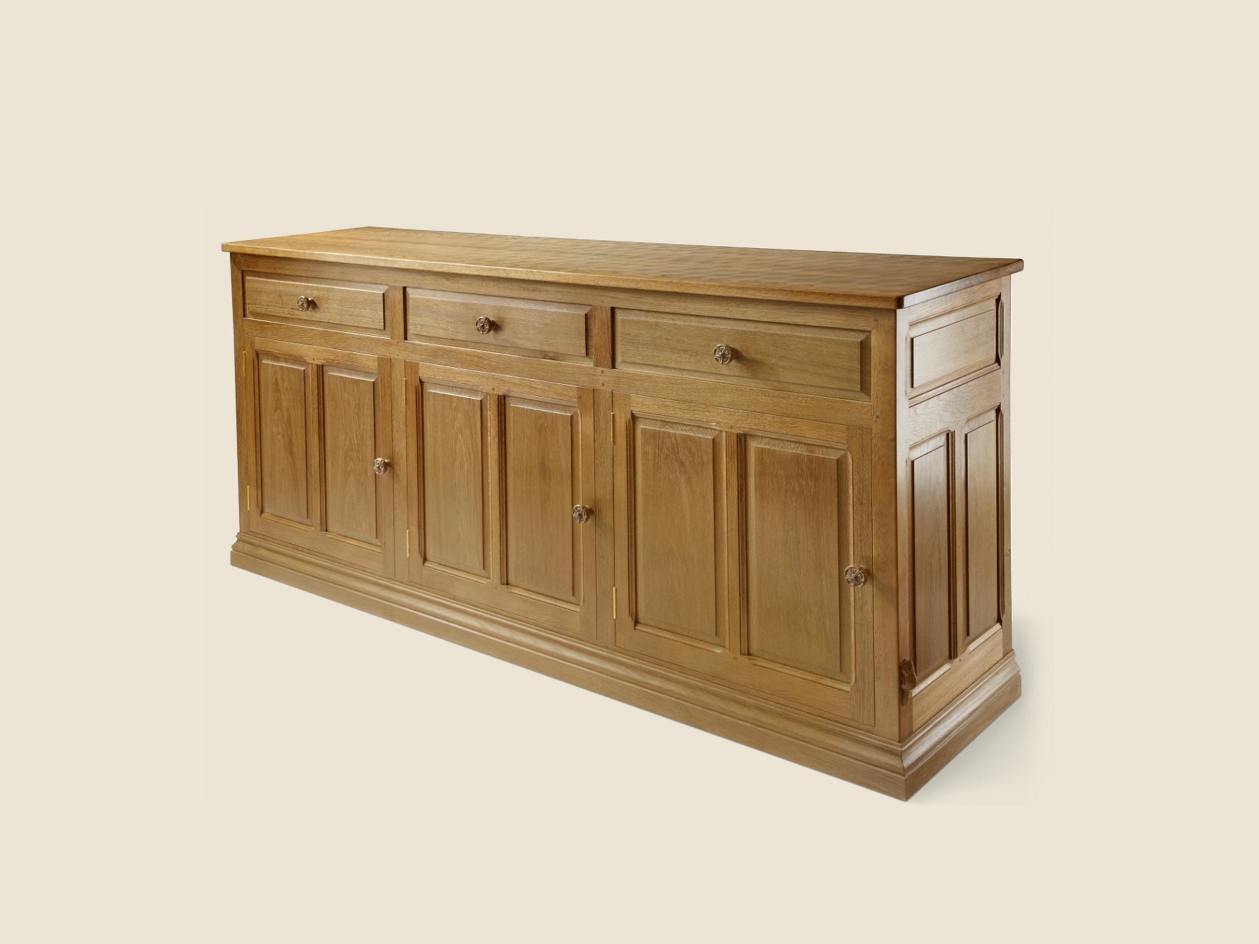 BF302 Solid Oak Sideboard