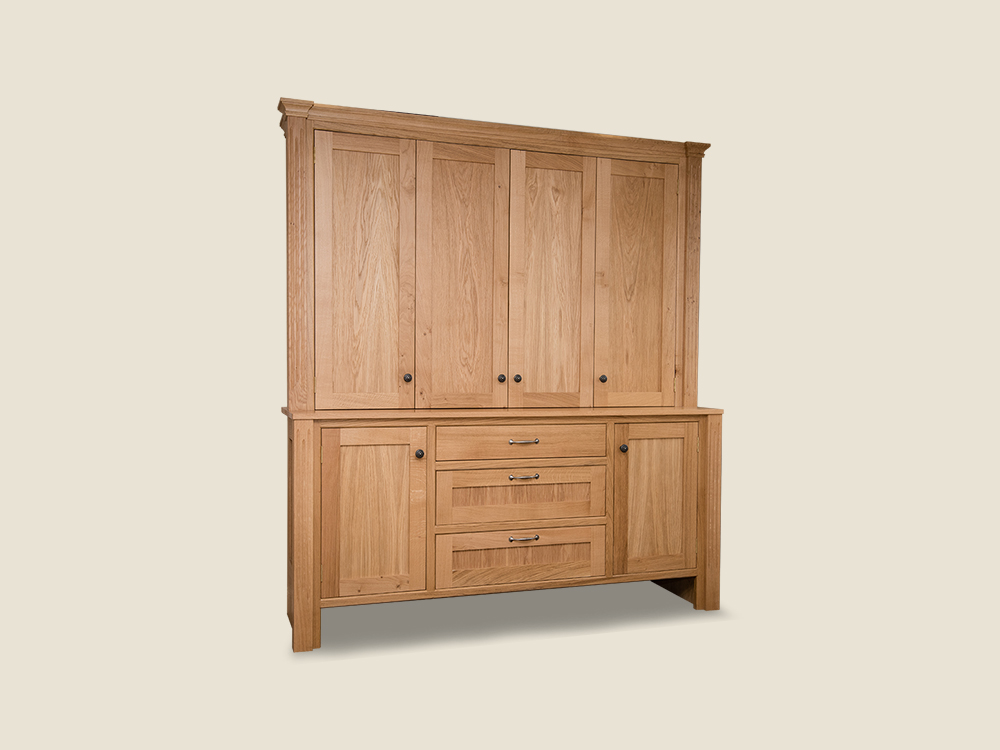 BF410 Kitchen Dresser with Bi-fold Doors