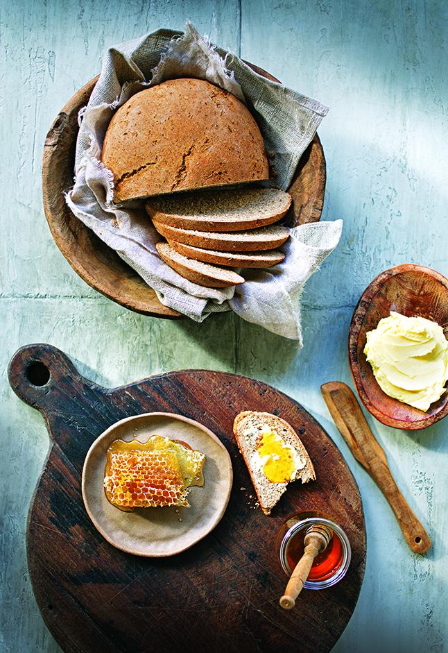 Robyn Lea, Farmhouse Rye Bread Props styling: Bec Cole Food styling: Deb Kaloper