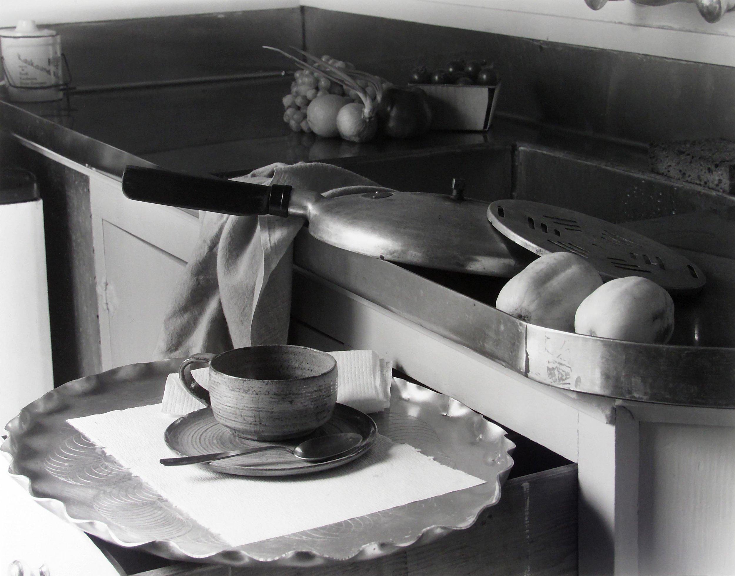 Imogen Cunningham, My Kitchen Sink, 1947 © Imogen Cunningham Trust