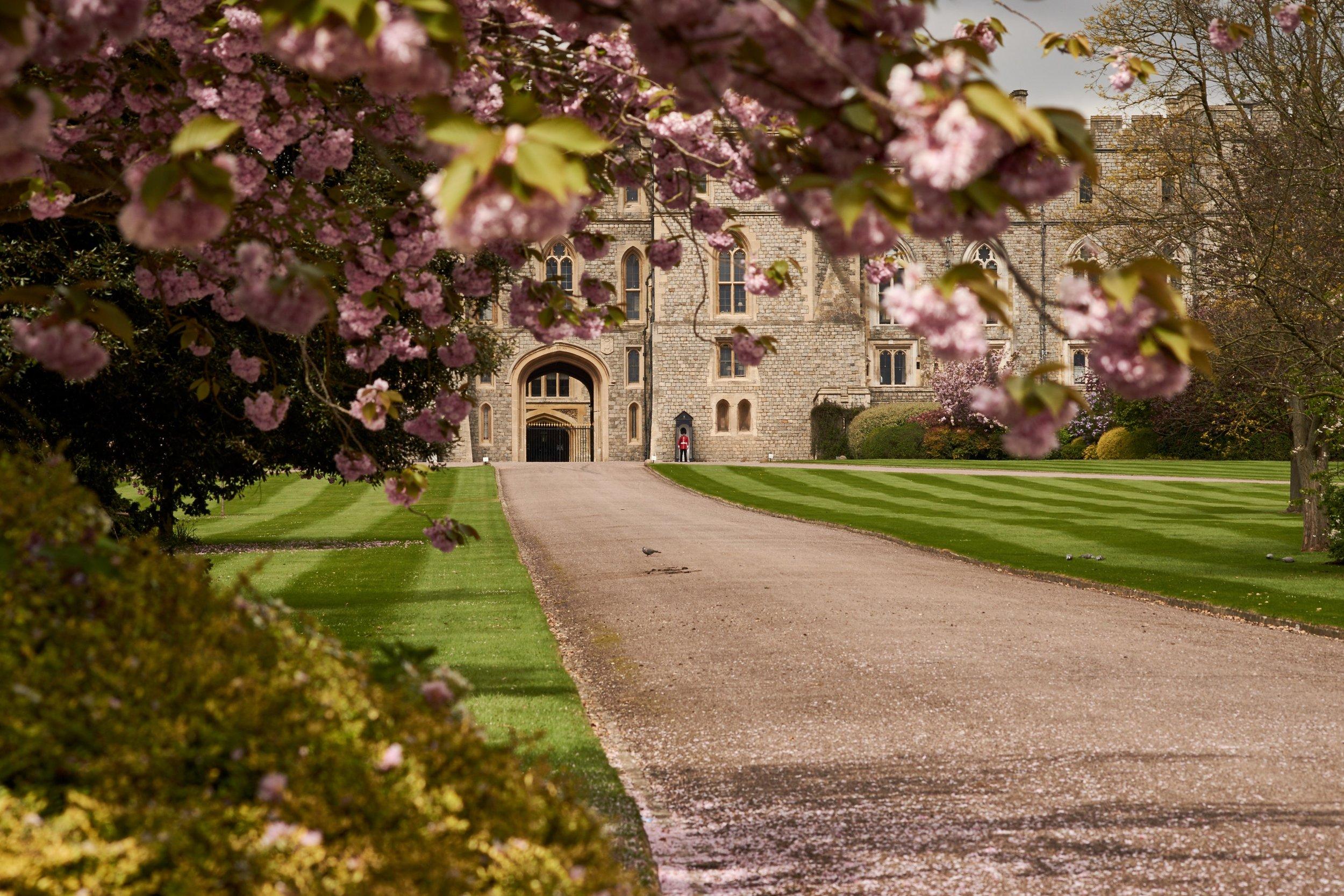 Il castello di Windsor, ospiterà il matrimonio del principe Harry e Megan Markle. Foto di JJ Jordan