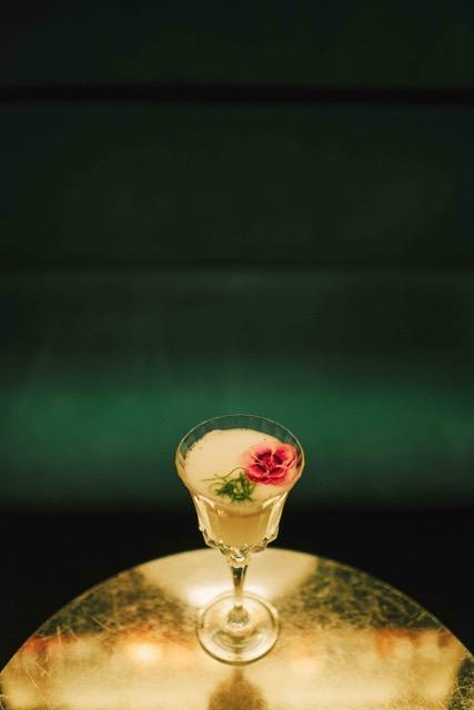 Hasekura Deal il cocktail creato da Fabio Bacchi per The Spirit ispirato all'omonimo diplomatico e samurai giapponese.