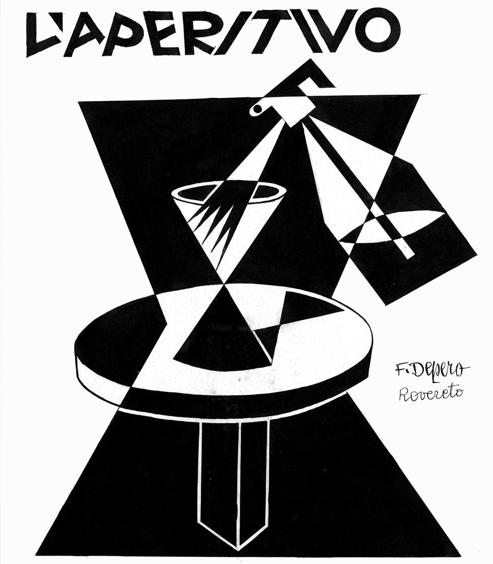 Fortunato Depero e Davide Campari rivoluzionarono il concetto di comunicazione ripartendo dall'arte.